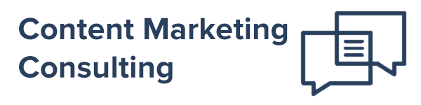 Content Marketing Consulting Header