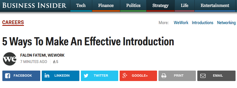 Business Insider Example