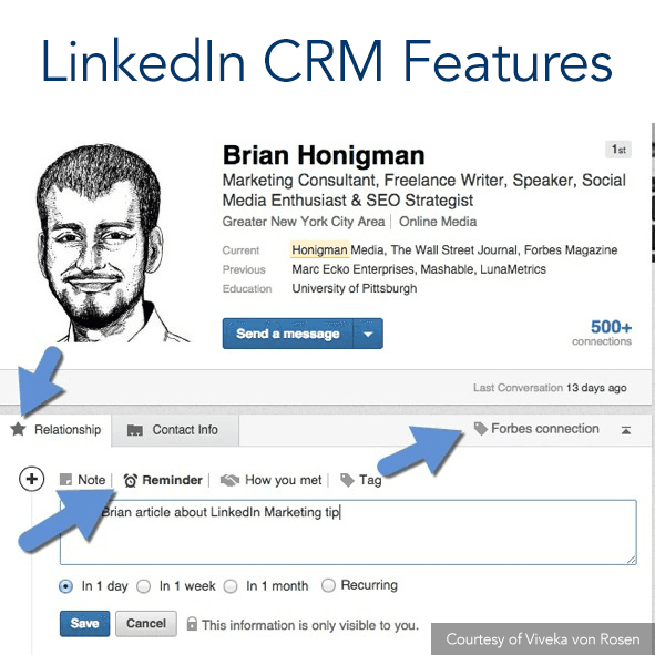 Linkedin-CRM