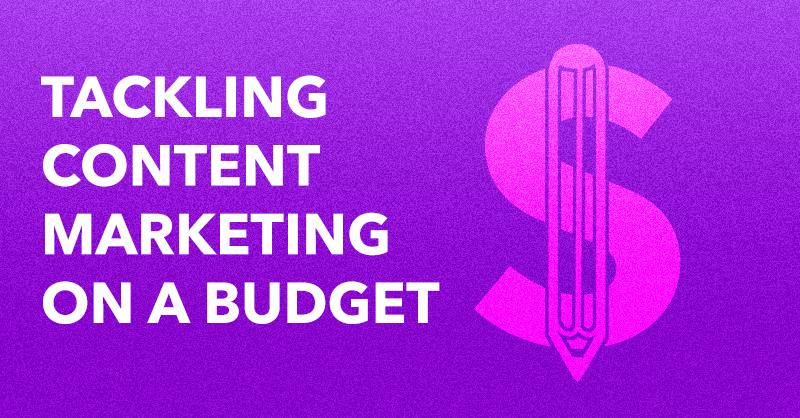 Tackling Content Marketing on a Budget via BrianHonigman.com