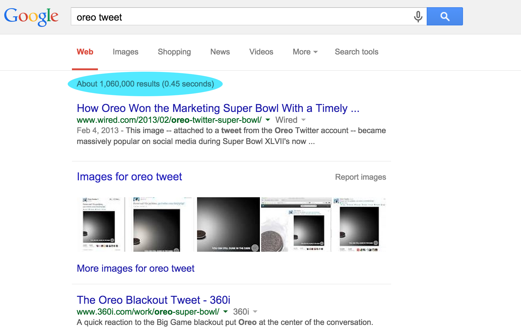 Oreo-Tweet-Search