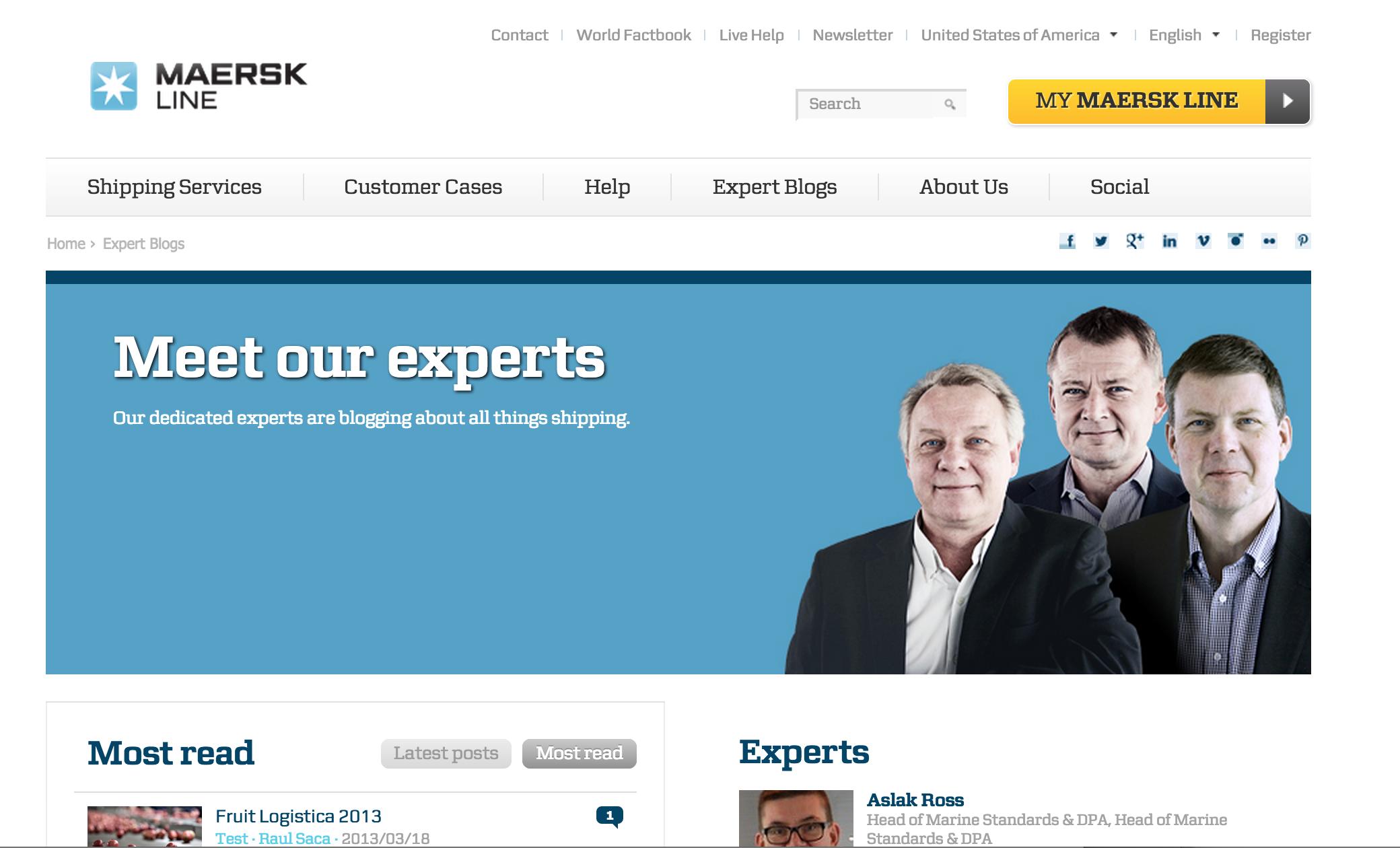 Maersk Blog