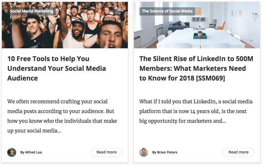 Buffer Blog Example