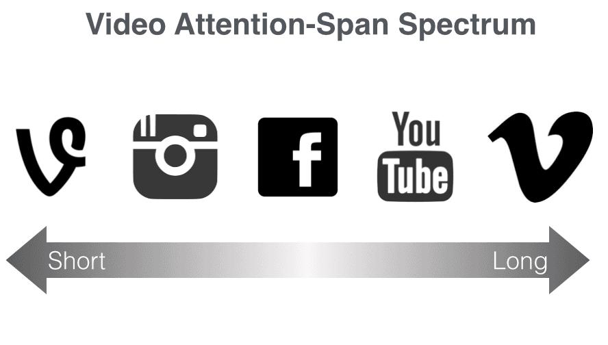 Video Attention Spectrum