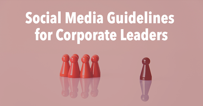 Social Media for Leadership Guidelines via BrianHonigman.com