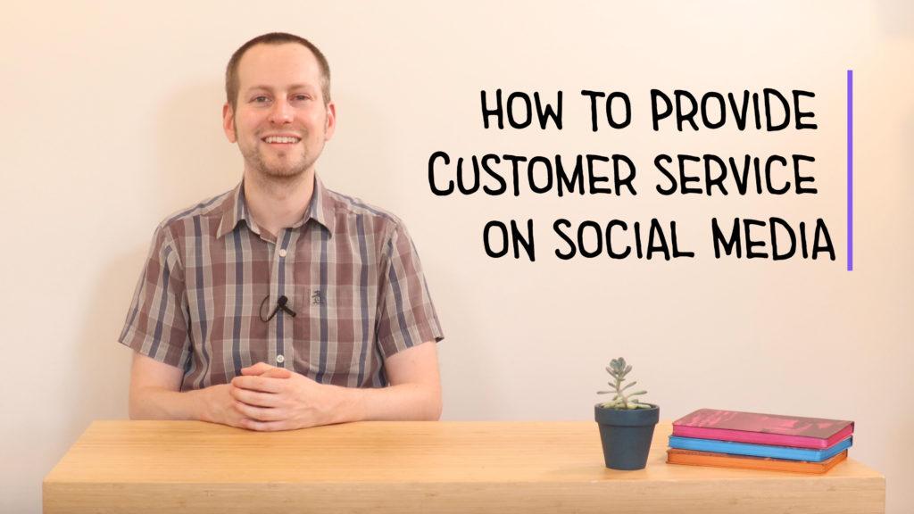How to Provide Customer Service on Social Media Class Thumbnail